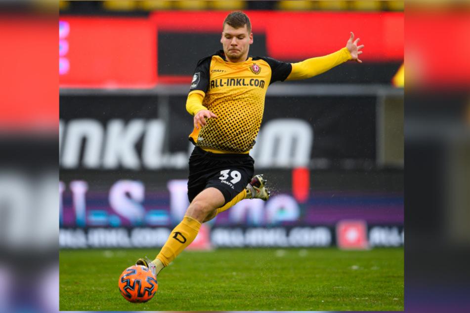 Im Sommer verletzte sich der geborene Münchner und musste seitdem pausieren. Jetzt steht er wieder auf dem Trainingsplatz.