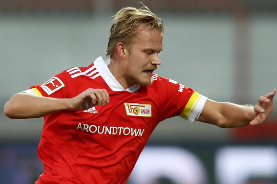 Der finnische Stürmer Joel Pohjanpalo (26) könnte am Samstag gegen Borussia Mönchengladbach sein Comeback im Trikot des 1. FC Union Berlin feiern.