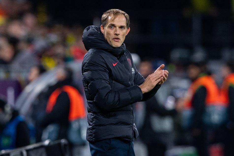 Ist über die Talente-Flucht bei seinem Klub nicht sonderlich begeistert, Thomas Tuchel (46).