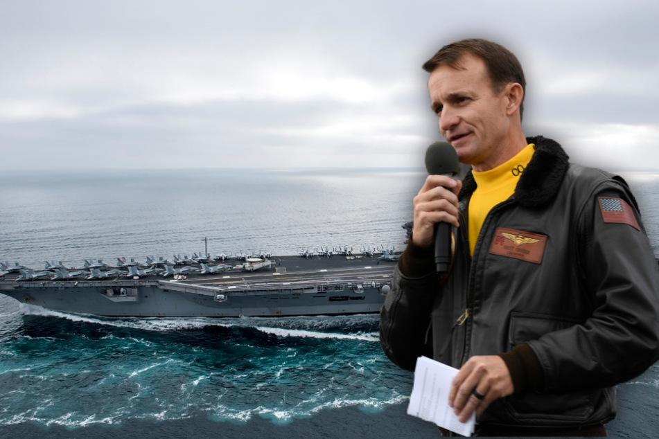 Vertuschung bei der Navy? US-Flugzeugträger sorgt weiterhin für Drama