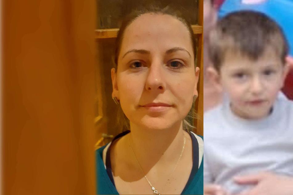 Nach mutmaßlichem Kidnapping von Frau (34) und Sohn (3): Polizei fahndet international