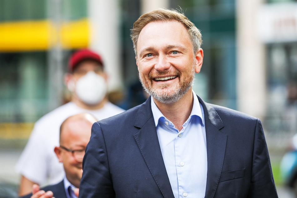 Christian Lindner (42, FDP) hat gut lachen: Frauen wählten ihn zum Sexiest Politiker 2021.