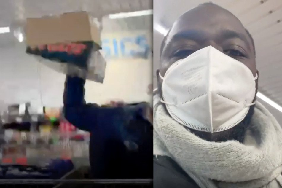Tänzer Prince Ofori Kyere hat Videoaufnahmen auf Instagram veröffentlicht, welche einen rassistischen Vorfall in einer Aldi-Filiale dokumentieren.