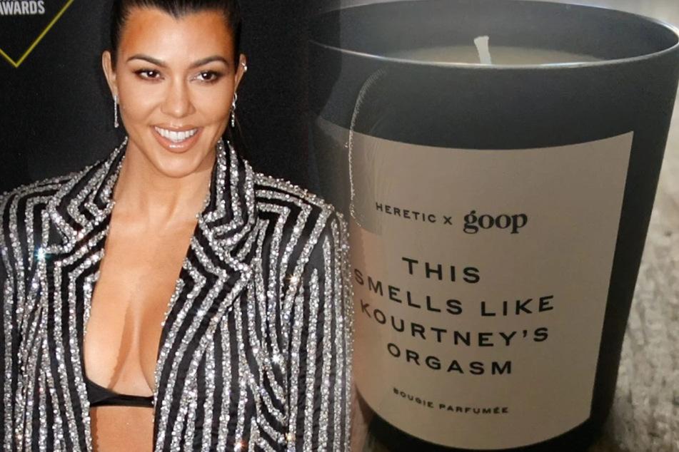 """Kourtney Kardashian (42) hat jetzt auch eine eigene """"Orgasmus""""-Kerze."""