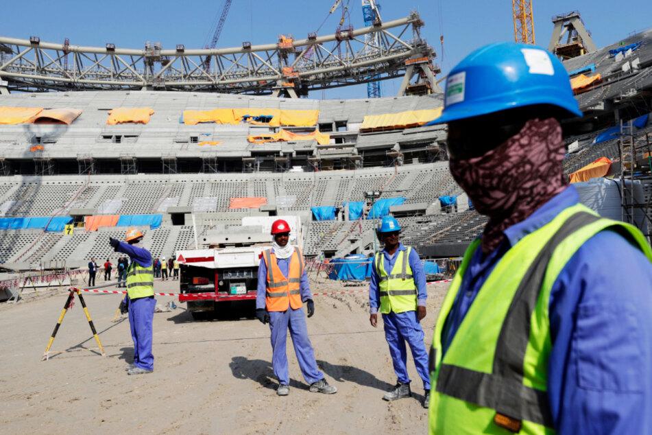 Die Menschenrechtsorganisation Amnesty International prangert die Zustände für die Arbeiter in Katar an. (Symbolbild)