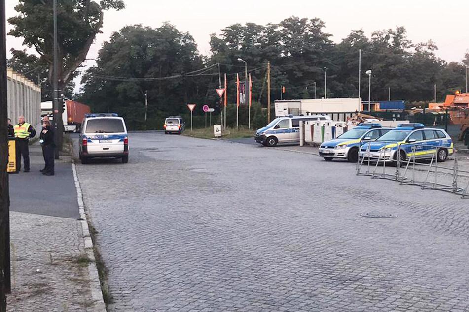 Die Polizei war entsprechend vorbereitet und vor Ort.