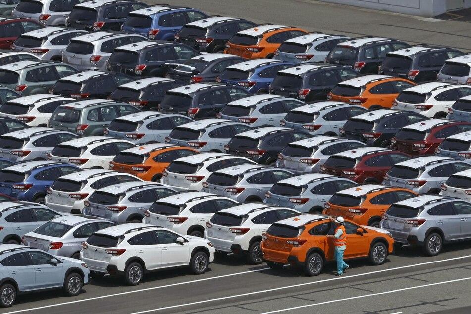 Bevor Autos in Japan ausgeliefert werden können, benötigen die künftigen Eigentümer einen Parkplatz.