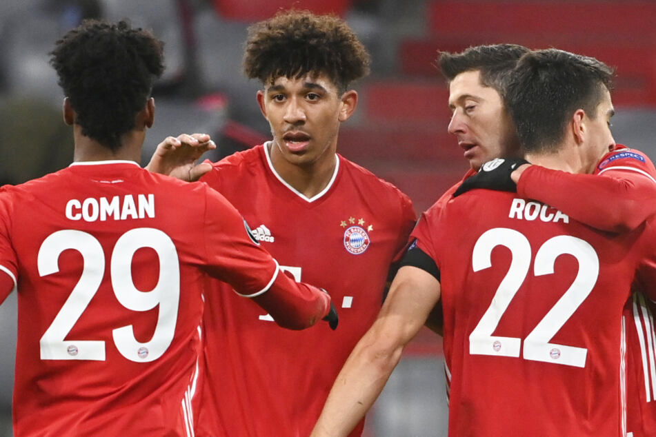 Chris Richards (21, 2.v.l.) steht noch bis Sommer 2023 beim FC Bayern München unter Vertrag, könnte jedoch erneut verliehen werden.