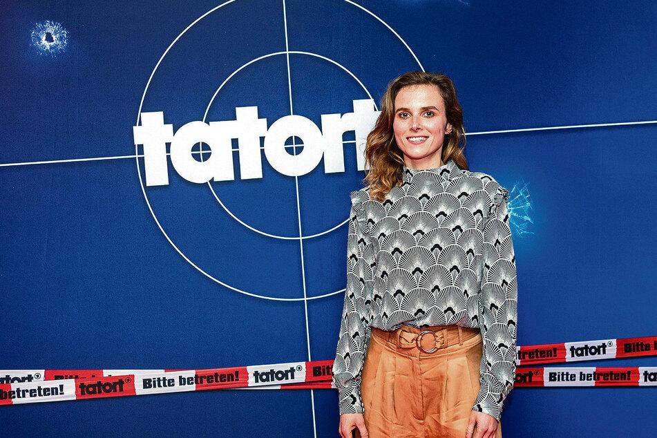 """Karin Hanczewski (38) ist eine der heißesten """"Tatort""""-Ermittlerinnen, die Deutschland zu bieten hat."""