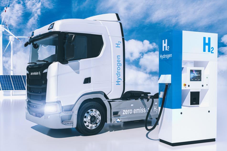In Sachsen gibt es nur wenige Möglichkeiten, Wasserstoff zu tanken.