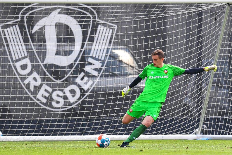 Anton Mitryushkin (25) kam für Dynamo Dresden bereits im Testspiel gegen Hertha BSC II (3:1) zum Einsatz.
