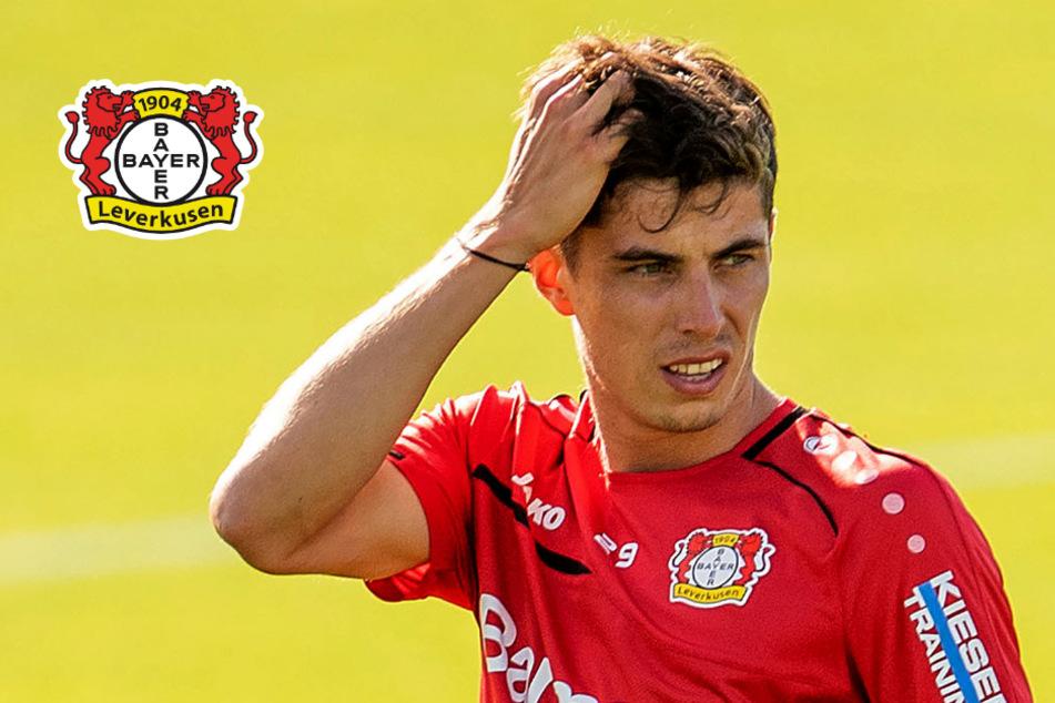 Kai Havertz beim Trainingsauftakt von Leverkusen: Gedanklich schon beim FC Chelsea?