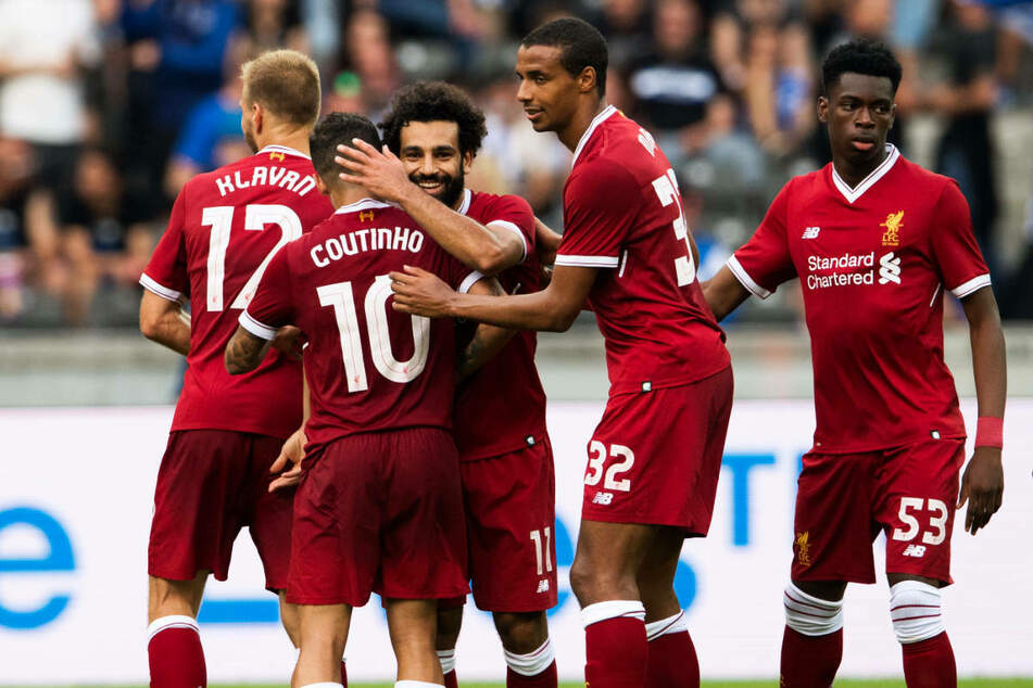 """Beim letzten Aufeinandertreffen mit Hertha BSC feierten die """"Reds"""" im Juli 2017 einen 3:0-Sieg im Berliner Olympiastadion."""