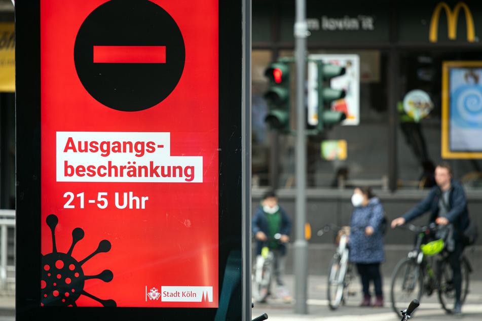 Wie in Köln gilt derzeit auch im Märkischen Kreis eine Ausgangssperre.