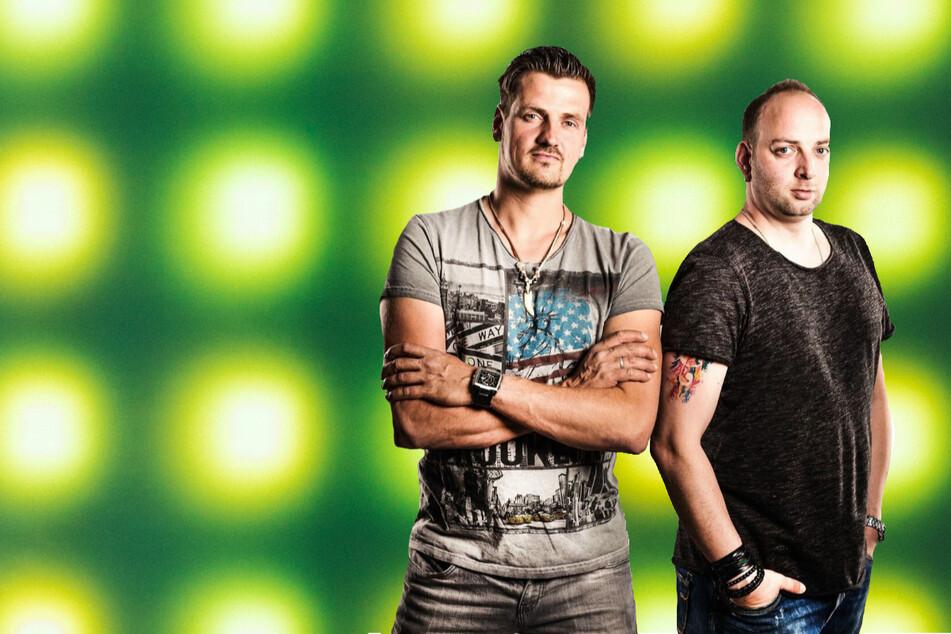 Ric Einenkel (43, l.) und Sebastian Seidel (37) geben einen Vorgeschmack auf ihr neues Album.