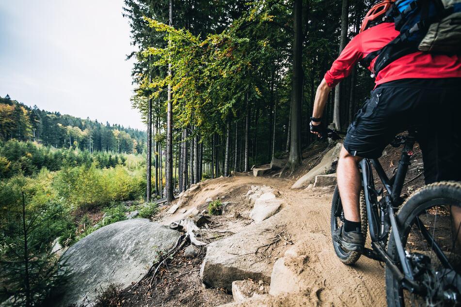 """Auf dem """"Trashmountain"""" kann man nun nicht mehr mit dem Mountainbike fahren. (Symbolfoto)"""
