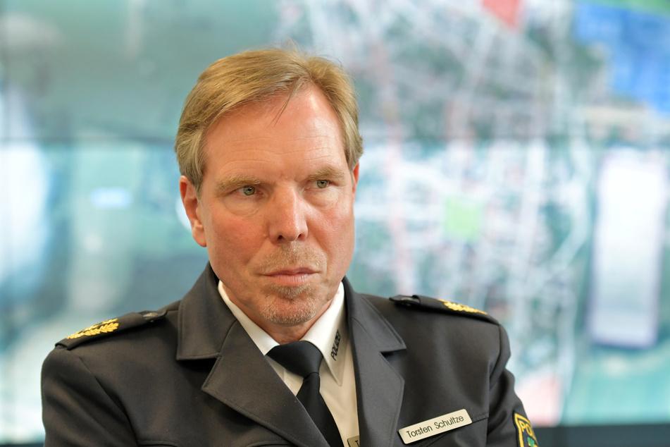 Leitete bereits im Sommer 2019 eine interne Untersuchung ein und änderte den Umgang mit Asservaten: Leipzigs Polizeichef Torsten Schultze.