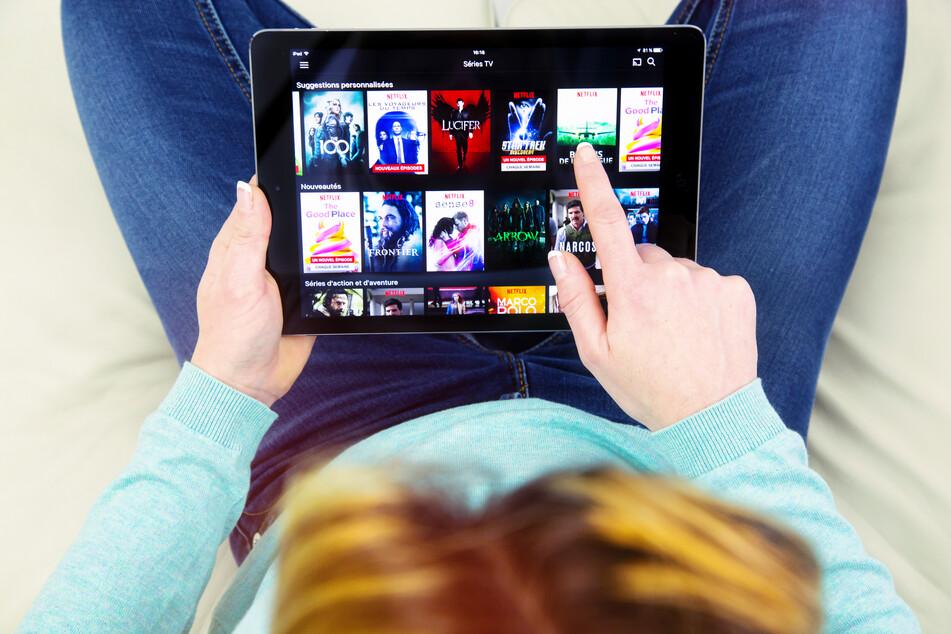 Bisher gibt es das neue Netflix-Update nur für Handys und Tablets.