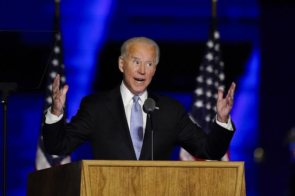 Ganz offensichtlich sind nicht alle von Joe Bidens Wahlsieg begeistert.