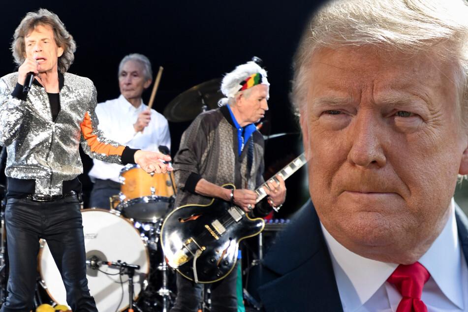 Rolling Stones drohen Donald Trump: Musik für Wahlkampf geklaut