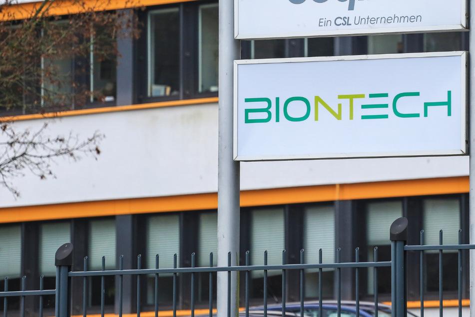 Das Foto zeigt die Biontech-Niederlassung in Marburg: Die Impfstoff-Produktion dort hat begonnen.