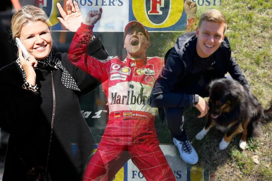 Formel 1: Mick Schumacher mit Mama und Hund in Imola - tolle Geste in Papas Wohnzimmer!