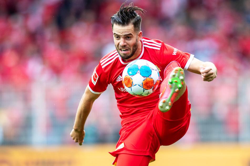 Schon sein zweites Tor in dieser Spielzeit: Niko Gießelmann brachte den 1. FC Union Berlin mit 1:0 in Führung.
