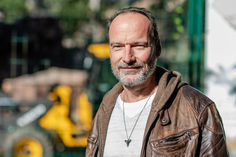 """Thomas Paarmann (53) vom """"Förderverein Tierparkfreunde Chemnitz"""" freut sich über so viel Solidarität."""