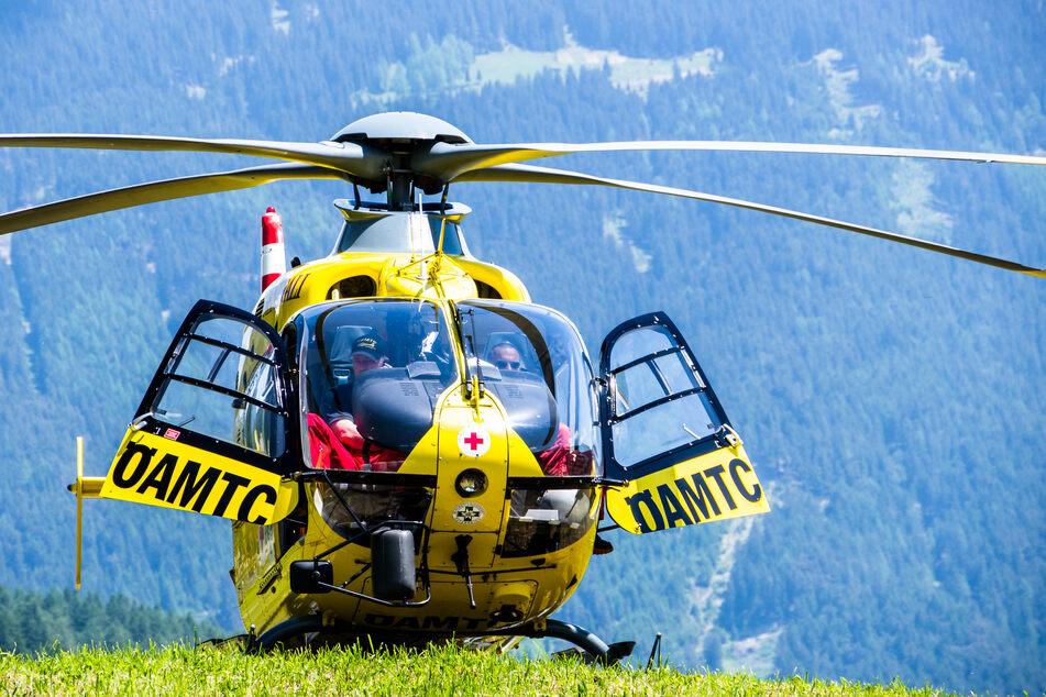"""Mittels Rettungshubschrauber """"Christophorus 9"""" wurde das Kind in eine Klinik gebracht. (Symbolbild)"""