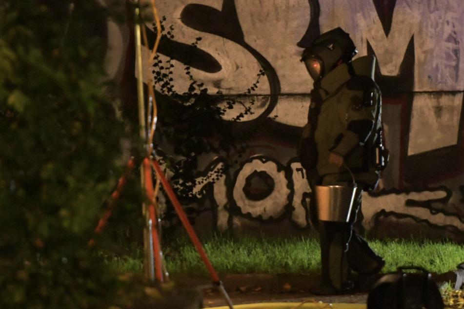 Polizei sucht Hanfplantage und findet Sprengstoff-Wohnung
