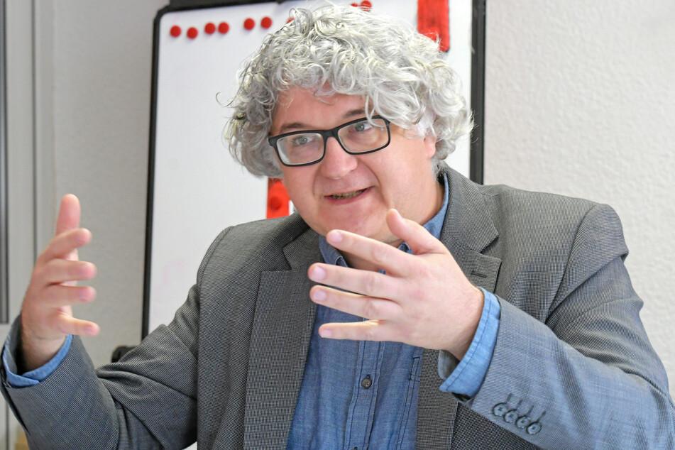 Linke-Rat Tilo Kießling (50) kämpfte gegen den Haltestellen-Abriss.