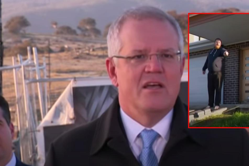 """""""Vom Gras runter"""": Hausbesitzer scheucht Premierminister live im TV vom Grundstück!"""