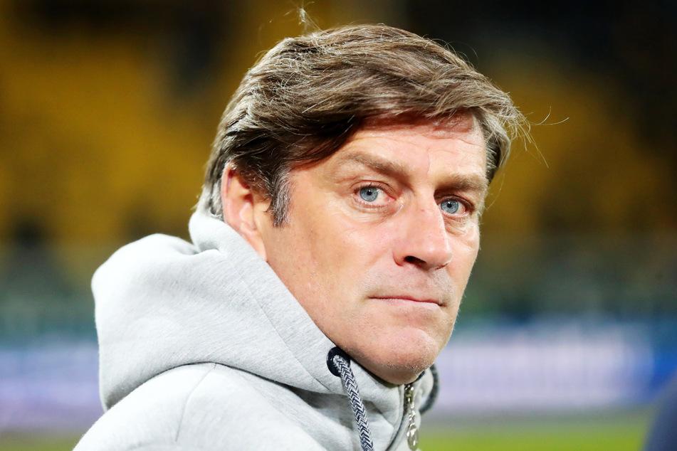 KSC-Sportgeschäftsführer Oliver Kreuzer (55) will Philipp Hofmann (28) nicht zum SV Werder Bremen ziehen lassen.