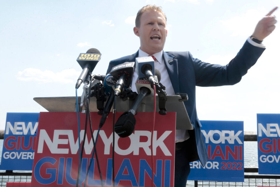 Andrew Giuliani announces GOP bid for New York governor