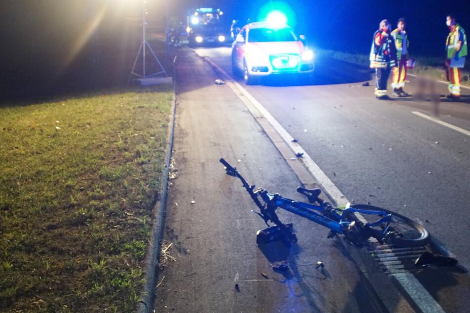 Radfahrer stirbt nach Frontal-Crash mit Motorrad