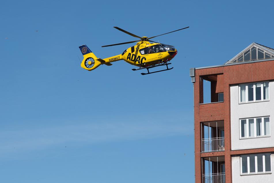 Ein Hubschrauber brachte das verletzte Kind in eine Klinik. (Symbolbild)
