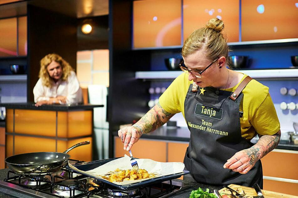 Tanja Kirmse (34) kocht sich Woche für Woche näher ans Ziel.