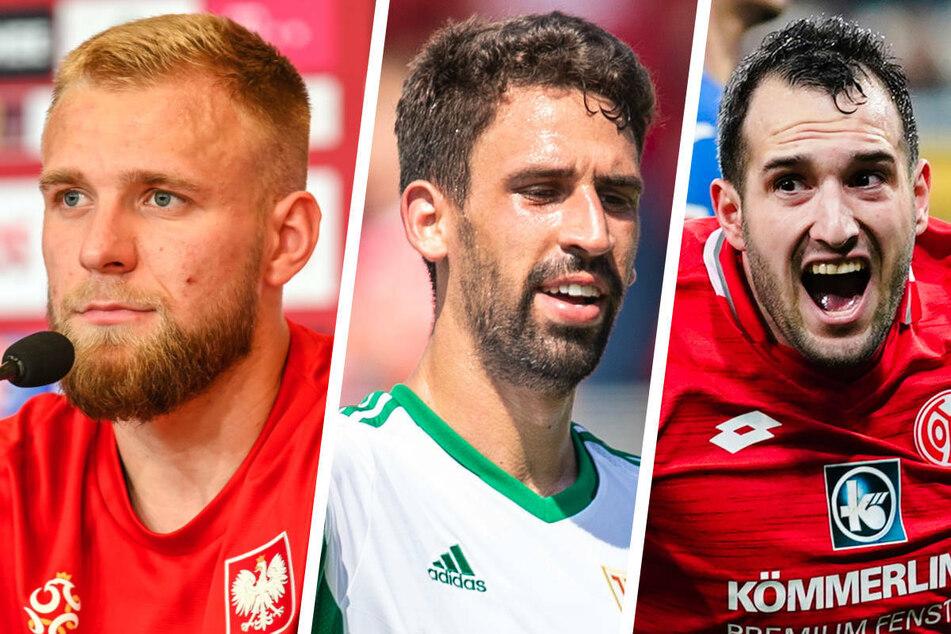 Mit Tymoteusz Puchacz (22, v.l.n.r.), Rani Khedira (27) und Levin Öztunali (25) konnte der 1. FC Union Berlin drei hochkarätige Neuzugänge für die neue Saison gewinnen.
