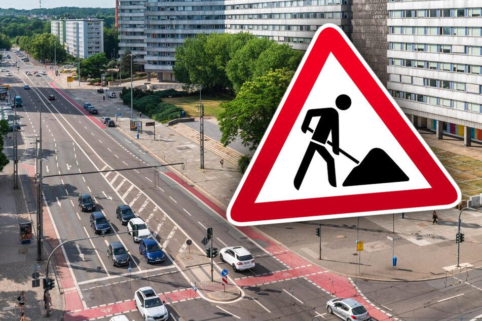 Baustellen Chemnitz: Chemnitz: Brückenstraße ab Montag für mehrere Tage komplett dicht!