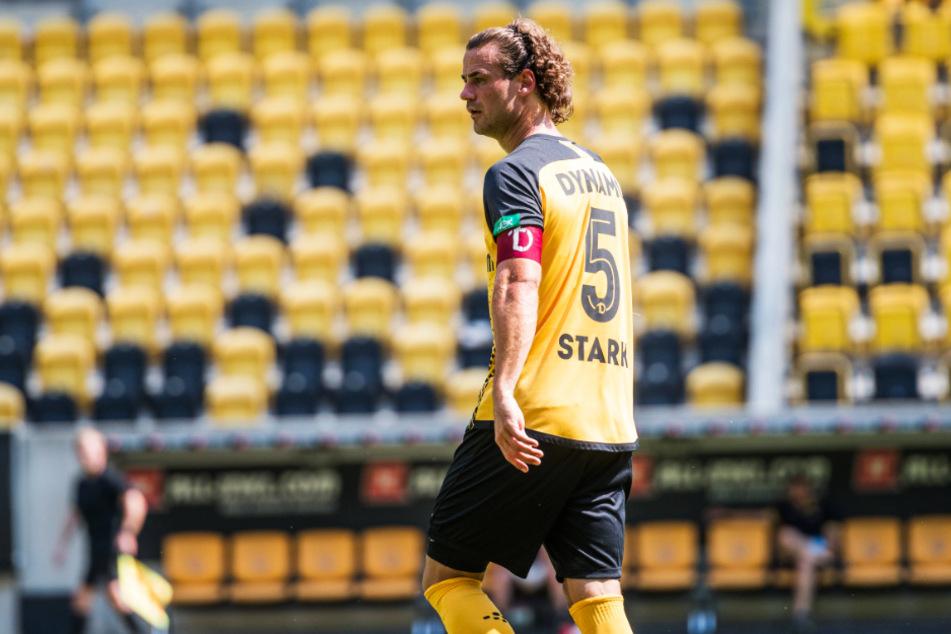 Gegen Hertha durfte Yannick Stark (r.) gleich die Kapitänsbinde tragen.