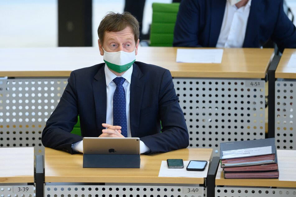 Michael Kretschmer (45, CDU) hat in den sozialen Medien Morddrohungen erhalten.