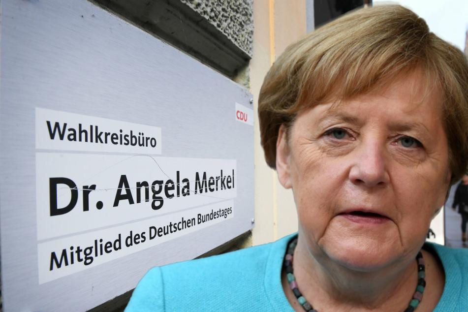 Bombenalarm im Wahlkreisbüro von Angela Merkel