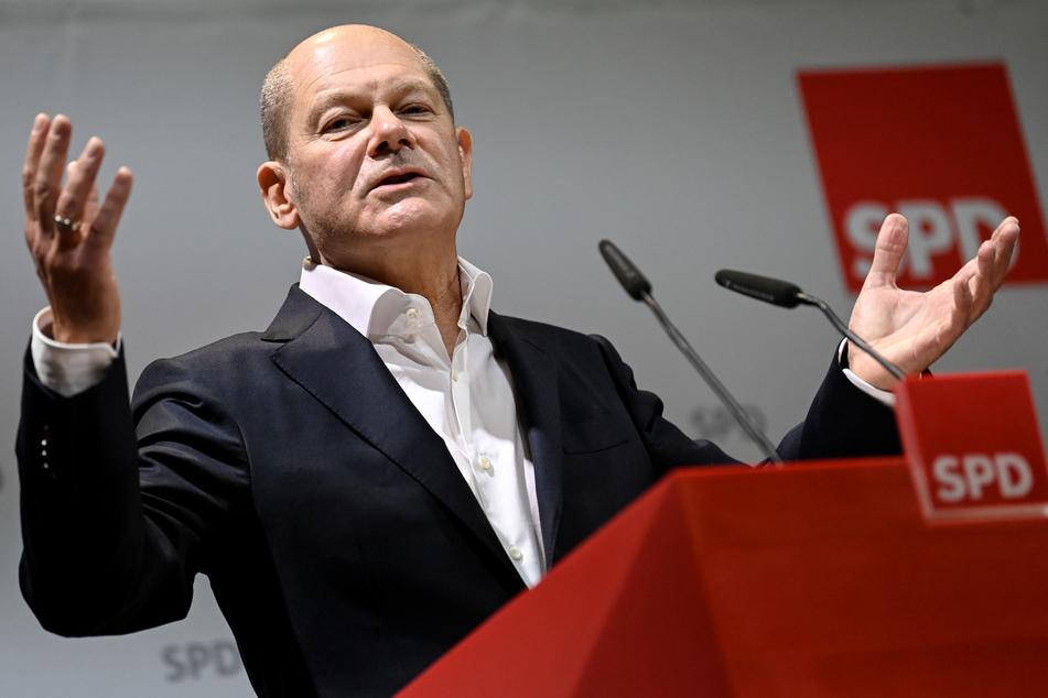 Bundeskanzlerkandidat Olaf Scholz (62 SPD).