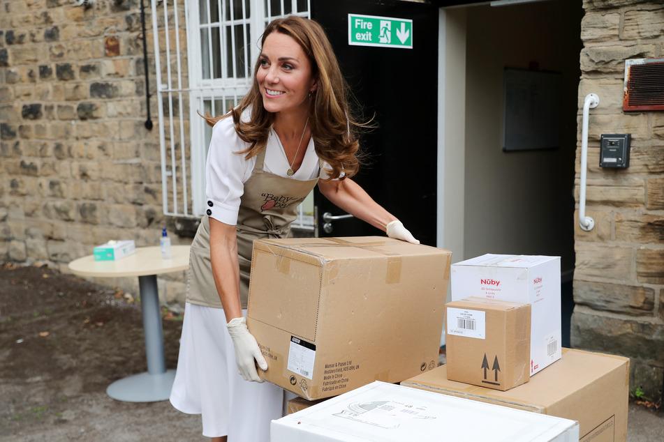 """Sie wird als die """"Kümmerin"""" in der Corona-Krise bezeichnet: Kate Middleton packt öffentlichkeitswirksam mit an und hilft überall."""