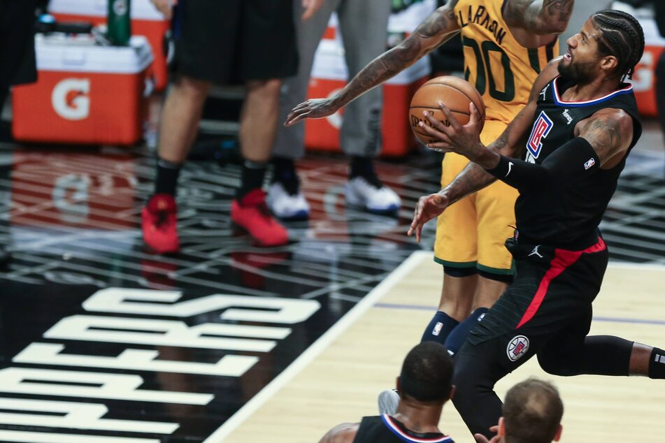 NBA Playoffs: The Clippers win big in Game 4 to tie their series against the top-seeded Jazz