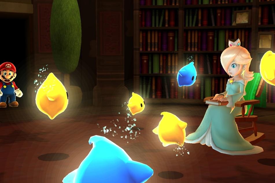"""""""Super Mario Galaxy"""" brachte mit den Luma und Rosalina mehrere neue einprägsame Charaktere ins Spiel."""