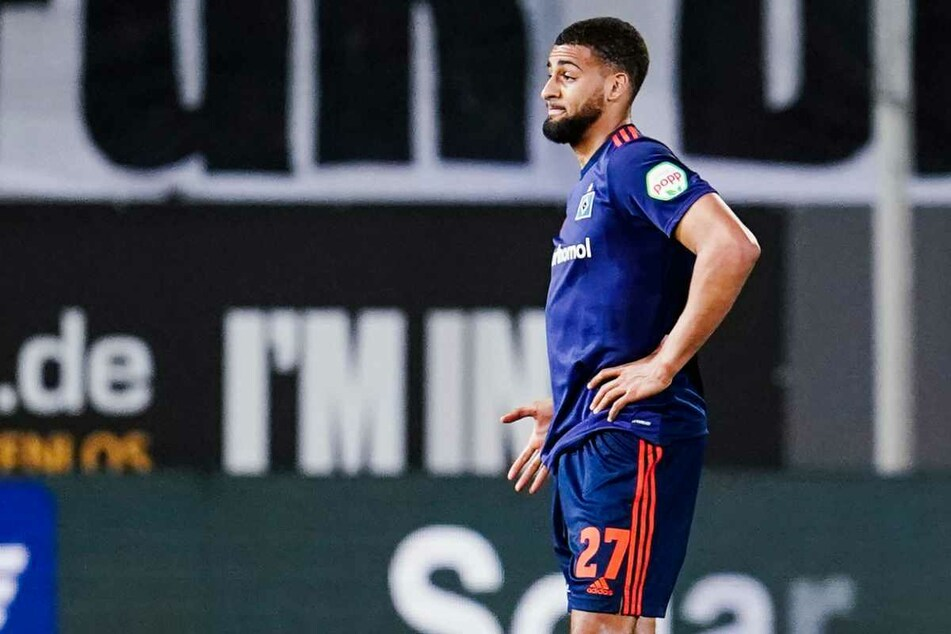 Bleibt er oder geht er? Die Zukunft von Josha Vagnoman (20) beim Hamburger SV ist ungewiss.