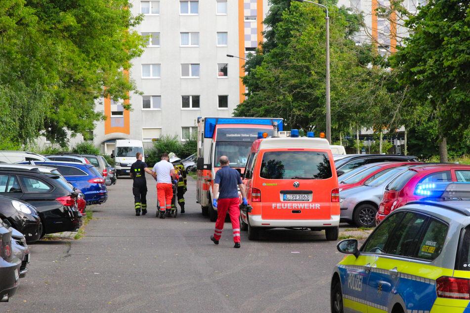 Nach ersten Informationen wurden zwei Personen in ein Krankenhaus eingeliefert.