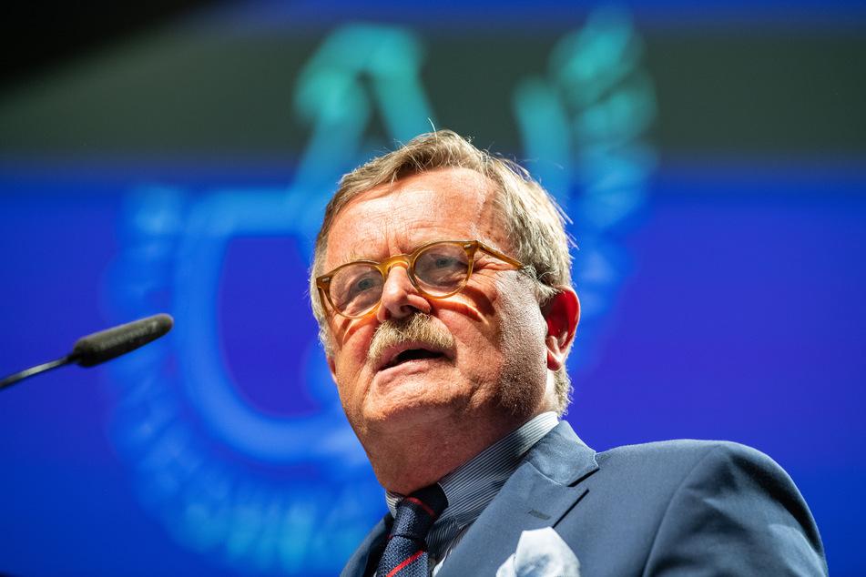 Frank Ulrich Montgomery, Präsident der Bundesärztekammer und des Deutschen Ärztetages sowie der Vorsitzende des Weltärztebundes.