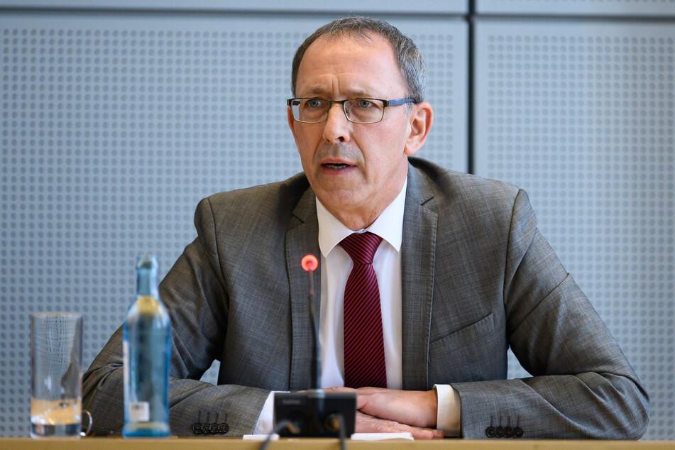 AfD-Fraktions-Chef Jörg Urban (56) hat eine klare Linie.